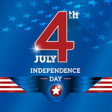 4th of july. The fourth of July, American Independence Day background Royalty Free Stock Image