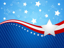 4th July. Fourth of July vector illustration Stock Image
