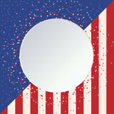 4th of july happy independence day america. T vector illustration