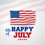 4th july Happy Independence day United State America. Celebrating independent Royalty Free Stock Photos