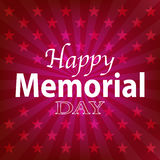 4th July Happy Memorial Day badges and labels. Vector eps 10 Stock Photos