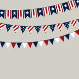 4th of July. Illustration of a 4th of July Independence Day Background Stock Photography