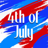 4th of July. Illustrator of a background for 4th of July Royalty Free Stock Images
