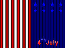 4th July Independence day. Abstract 4th July America Independence day background royalty free illustration