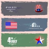 4th of July Independence Day of America background. Easy to edit vector illustration of 4th of July Independence Day of America background vector illustration