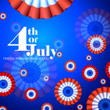 4th July, Independence day of America. Easy to edit vector illustration of 4th July, Independence day of America vector illustration