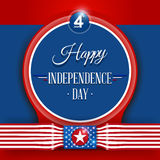 4th of July independence day. 4th of July, American Independence Day background Stock Photos