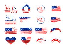 4th July Independence Day   background Stock Photos