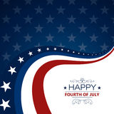 4th of July Independence Day Background Stock Photo