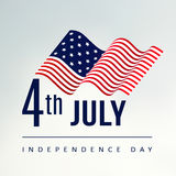 4th July Independence day,  background, USA flag Stock Image