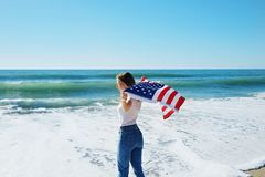 4th of July Independence Day celebration concept stock photo