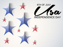 4th of July independence day. Royalty Free Stock Photos