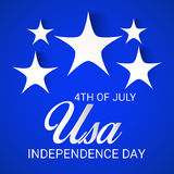 4th of July independence day. Royalty Free Stock Photo