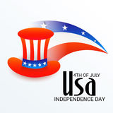 4th of July independence day. Illustration of a Banner for 4th of July independence day Royalty Free Stock Photo