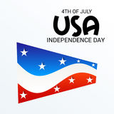 4th of July independence day. Illustration of a Banner for 4th of July independence day Royalty Free Stock Photography
