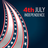 4th of july independenece Stock Image