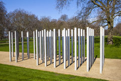 7th July Memorial in Hyde Park Stock Image