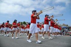 4th of July Parade Huntington Beach CA USA Royalty Free Stock Photography