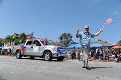 4th of July Parade Huntington Beach CA USA Royalty Free Stock Photos