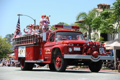 4th of July Parade Huntington Beach CA USA Royalty Free Stock Images