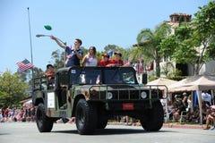 4th of July Parade Huntington Beach CA USA Royalty Free Stock Image