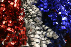 4th of July ribbons Stock Photos