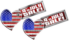4th of July - Sale Royalty Free Stock Photography