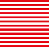 4th of July seamless pattern with red and white stripes. EPS royalty free illustration