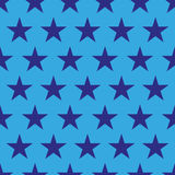 4th of July seamless pattern with stars. EPS vector illustration
