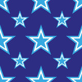 4th of July seamless pattern with stars. EPS Stock Images