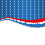 4th July Silver Blue Stripes Stock Images