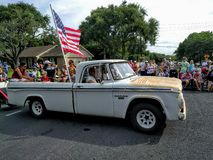 4th of July street parade Royalty Free Stock Images