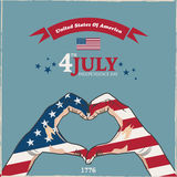4th July Usa. 4th of July Usa Background vector illustration