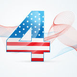 4th of july vector Royalty Free Stock Image