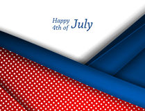 4th of July vector Royalty Free Stock Photo