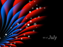 4th of July vector Royalty Free Stock Photography