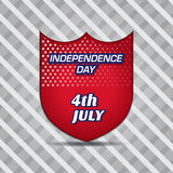 4th Of July Vector Illustration Stock Photo