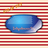 4th Of July Vector Illustration Royalty Free Stock Images