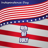 4th Of July Vector Illustration Stock Images