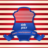 4th Of July Vector Illustration Stock Image
