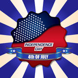 4th Of July Vector Illustration Stock Photos