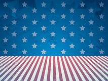 4th of july vintage background Stock Photo