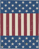 4th July Vintage Design Royalty Free Stock Photography