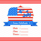4th of July wallpaper background Stock Photo