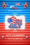 4th of July wallpaper background Royalty Free Stock Photo