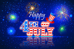 4th of July wallpaper background Stock Photos