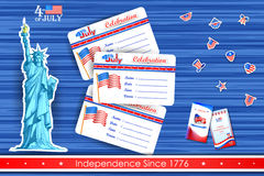 4th of July wallpaper background Royalty Free Stock Photography
