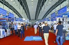 120th kantonu uczciwa sala 5 2 Guangzhou, porcelana Obrazy Stock