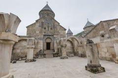 13th kloster för armenia århundradehaghartsin Den forntida måndagen Royaltyfria Foton