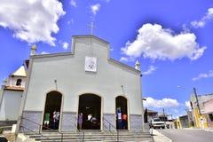 Th kościół katolicki Brazylia zdjęcie royalty free